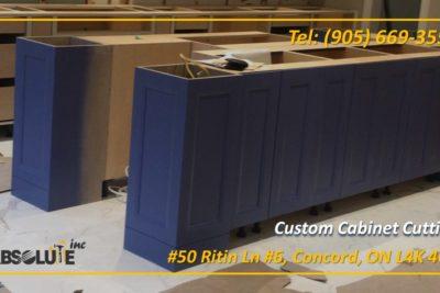 CNC Cabinet Cutting