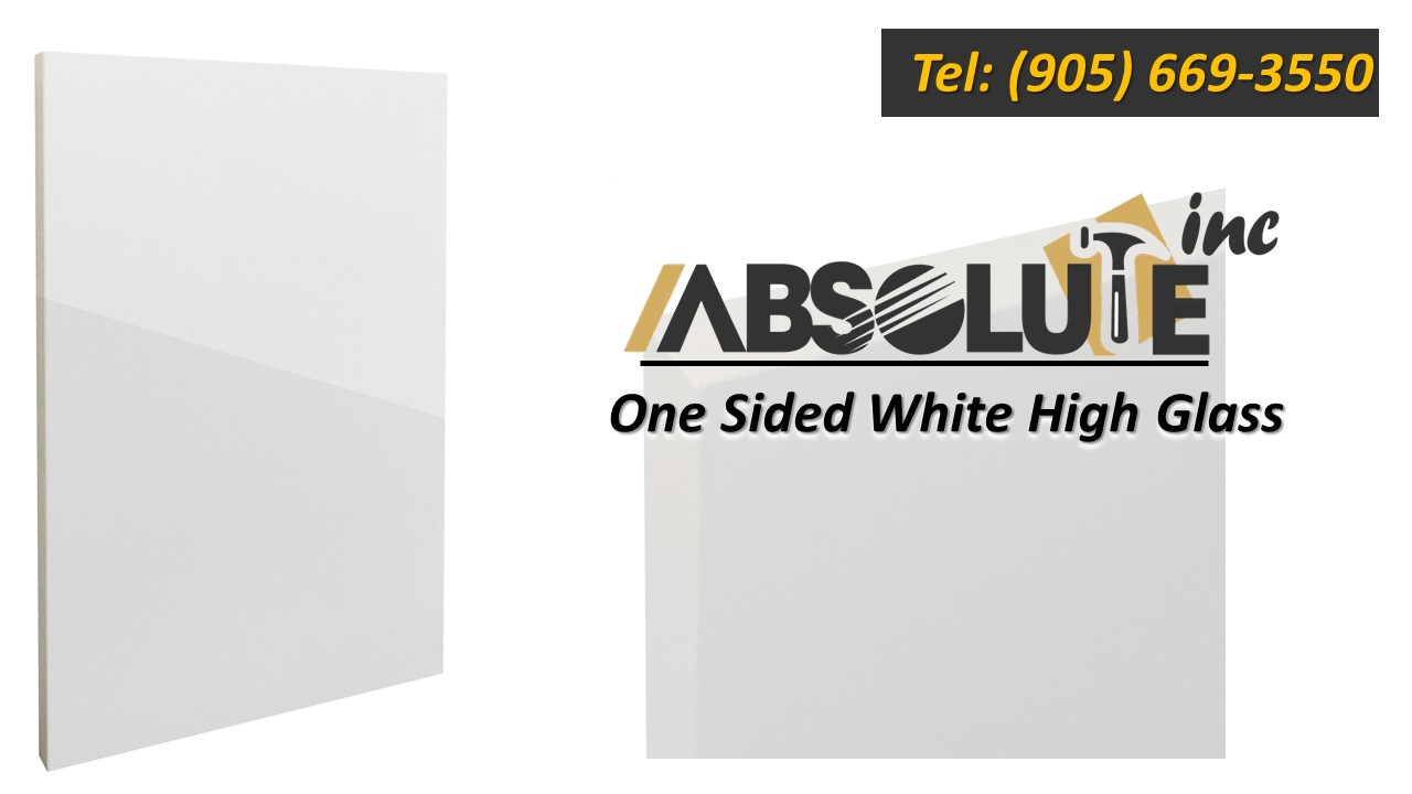 High gloss acrylic slabs