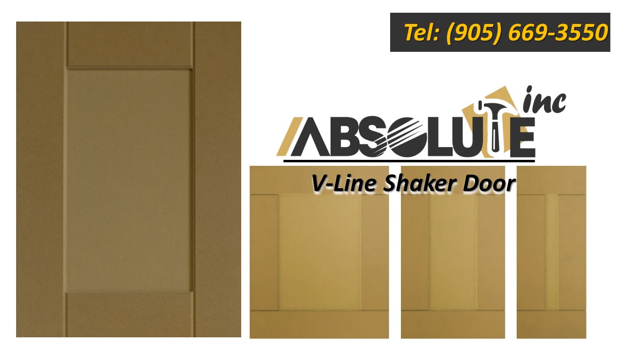 V-Line MDF Shaker Door